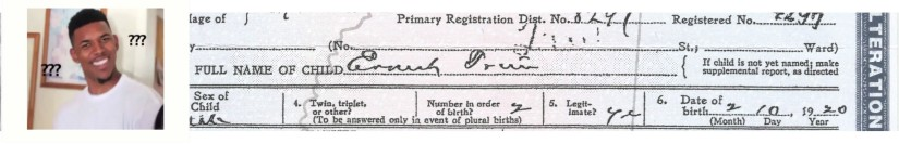 trim, eddie lee birth certificate